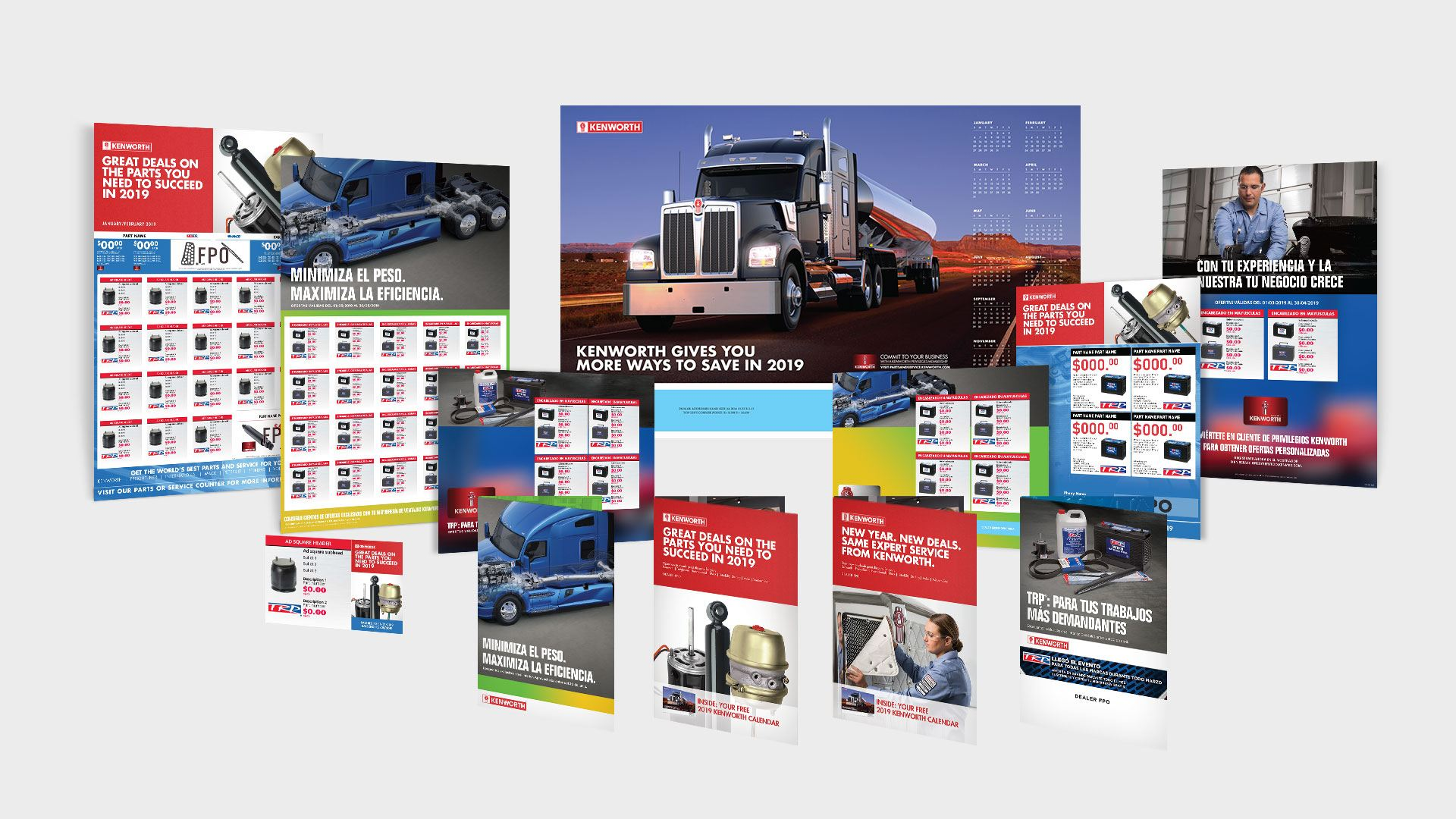 PACCAR Parts Print Campaigns